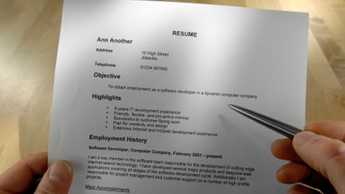 10 tips for writing a good resume